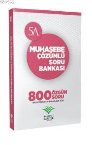 KPSS ve Kurum Sınavları İçin Muhasebe Çözümlü Soru Bankası