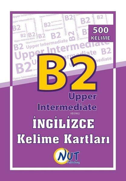 B2 Upper Intermediate İngilizce Kelime Kartları