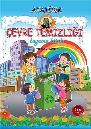 Atatürk Çevre Temizliği Boyama Kitabı