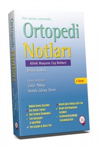 Ortopedi Notları; Klinik Muayene Cep Rehberi