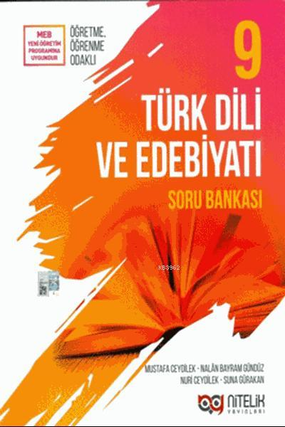 Nitelik Yayınları 9. Sınıf Türk Dili Ve Edebiyatı Soru Bankası Nitelik