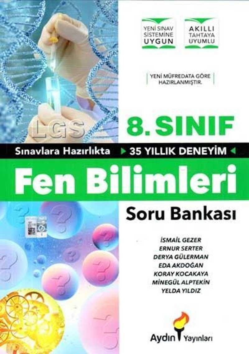 Aydın - 8. Sınıf Fen Bilimleri Soru Bankası