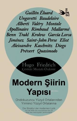 Modern Şiirin Yapısı Ondokuzuncu Yüzyıl Ortalarından Yirminci Yüzyıl Ortalarına