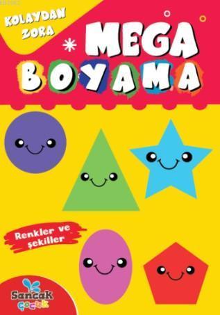 Mega Boyama; Renkler ve Şekiller