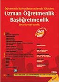 Uzman Öğretmenlik Başöğretmenlik Sınavlarına Hazırlık 2006