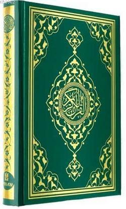 Efdal Bilgisayar Hatlı Kuran-ı Kerim; Orta Boy, Şamua, Kutulu, Yaldızlı