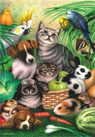 Anatolian Puzzle Büyülü Hayvanlar / Magic Pets 3286 260 Parça