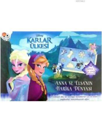 Karlar Ülkesi Anna ve Elsa'nın Harika Dünyası Yapboz Kitabı (3+ Yaş)