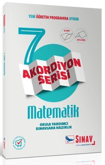 Sınav Dergisi Yayınları 7. Sınıf Matematik Akordiyon Serisi Aç Konu Katla Soru Sınav Dergisi