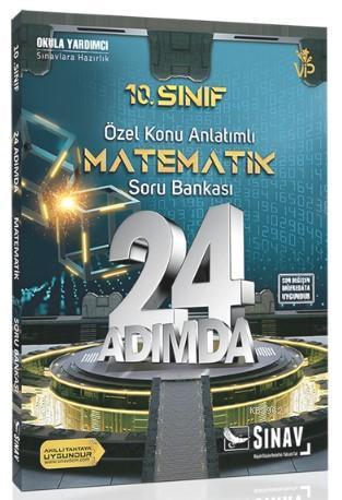 2019 24 Adımda 10. Sınıf Özel Konu Anlatımlı Matematik Soru Bankası