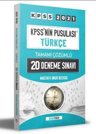KPSS'NİN Pusulası Türkçe Tamamı Çözümlü 20 Deneme Sınavı