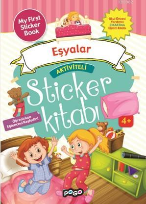 Aktiviteli Sticker Kitabı; Eşyalar