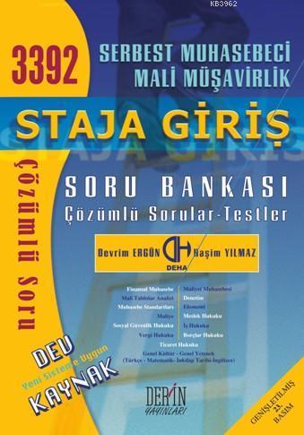 3392 SMMM Staja Giriş Soru Bankası