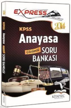 KPSS Anayasa Çözümlü Soru Bankası