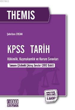 THEMIS KPSS Tarih; Hakimlik, Kaymakamlık ve Kurum Sınavları