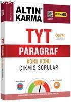 Altın Karma Yayınları TYT Paragraf Konu Konu Çıkmış Sorular (Kolay-Orta-Zor) Altın Karma