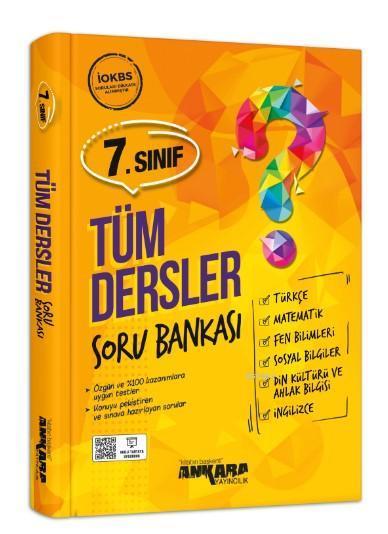 7.Sınıf Tüm Derler Soru Bankası Ankara Yayıncılık