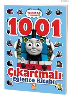 Thomas ve Arkadaşları - 1001 Çıkartmalı Eğlence Kitabı