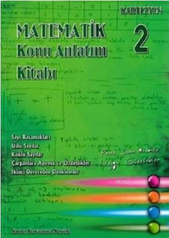 Kartezyen Konu Kavrama Serisi Matematik Konu Anlatım Kitabı 2