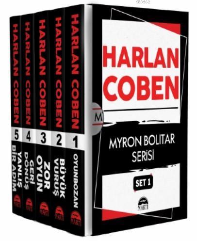 Harlan Coben - Myron Bolitar Serisi Set 1