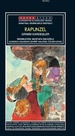 Sanatsal Resimli Rapunzel; Grimm Masallar