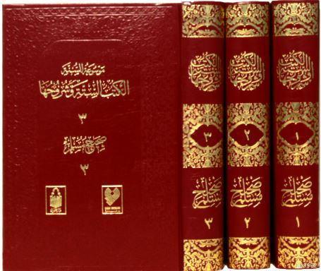 Sahih-i Müslim; (3 cilt, tamamı Arapça)