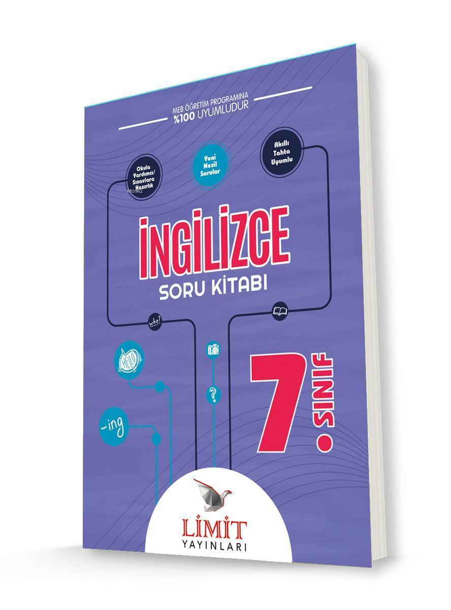 Limit Yayınları 7. Sınıf İngilizce Soru Kitabı Limit