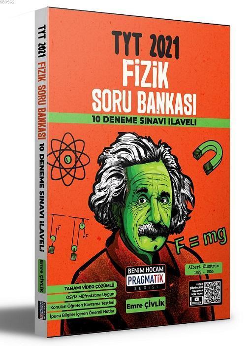 2021 TYT Fizik Soru Bankası 10 Deneme Sınavı İlaveli Benim Hocam Yayınları