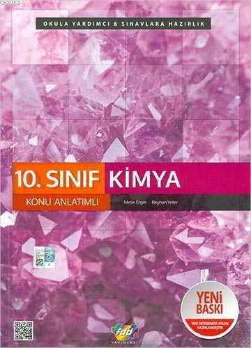 FDD Yayınları 10. Sınıf Kimya Konu Anlatımlı FDD