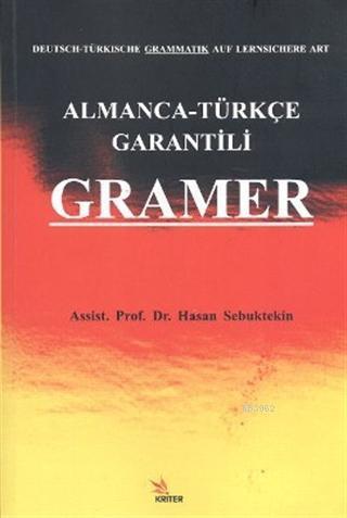 Almanca - Türkçe Garantili Gramer