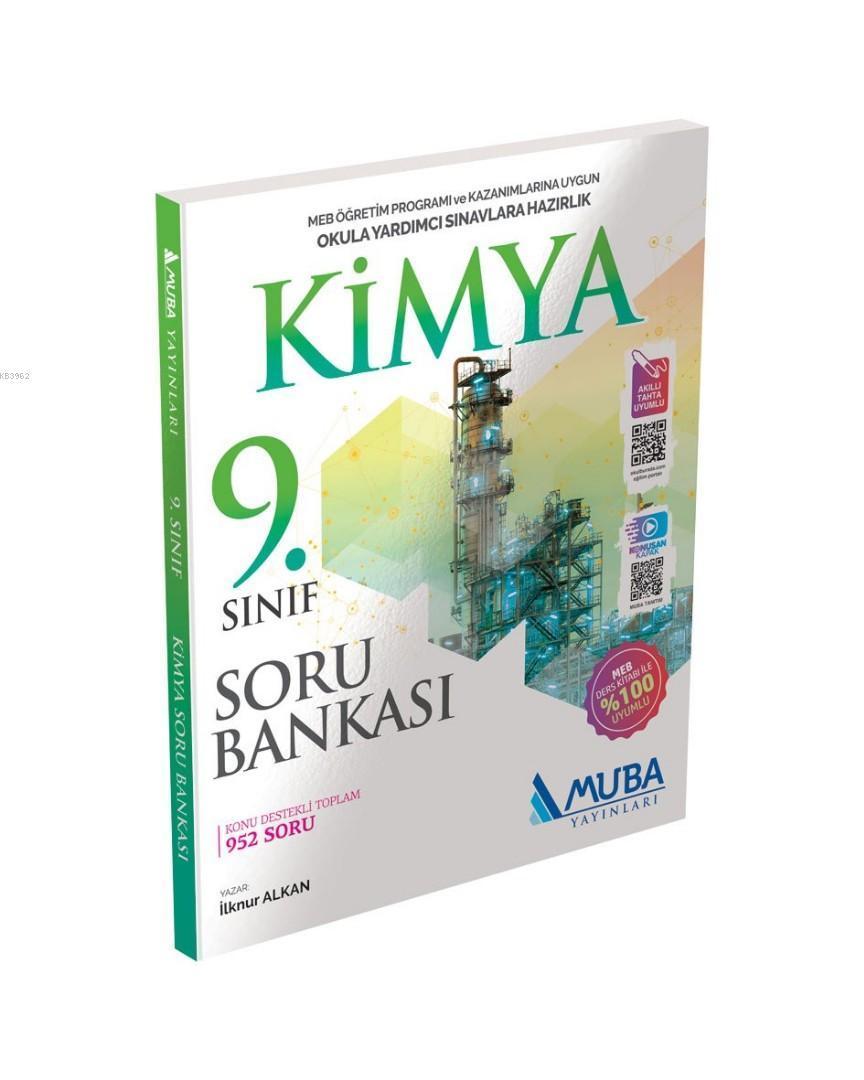 Muba Yayınları 9. Sınıf Kimya Soru Bankası Muba
