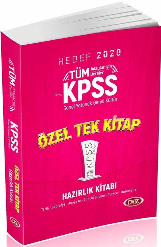 2020 KPSS Genel Yetenek - Genel Kültür Konu Anlatımlı Tek Kitap
