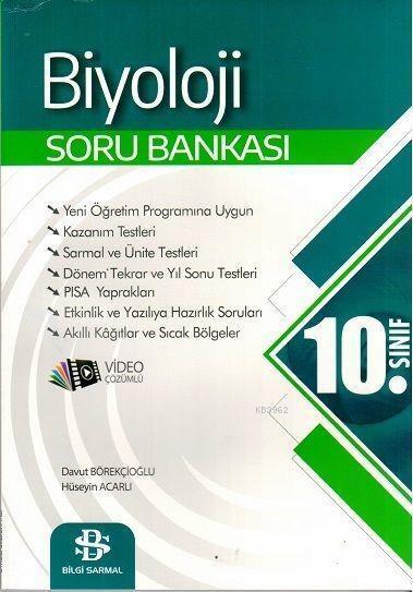 Bilgi Sarmal Yayınları 10. Sınıf Biyoloji Soru Bankası Bilgi Sarmal
