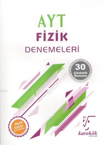 Karekök Yayınları AYT Fizik Denemeleri Karekök