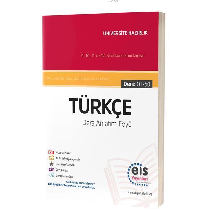 EIS - YKS Ders Anlatım Föyü Türkçe