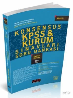 Konsensus KPSS Anayasa Hukuku Soru Bankası