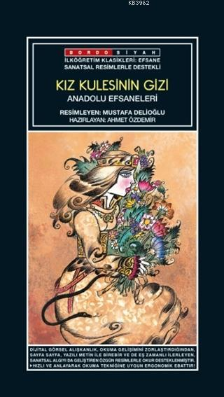 Sanatsal Resimli  Kız Kulesi'nin Gizi; Anadolu Efsaneleri