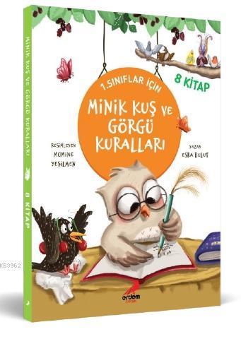 Minik Kuş ve Görgü Kuralları (8 Kitap Takım); 1. Sınıflar İçin
