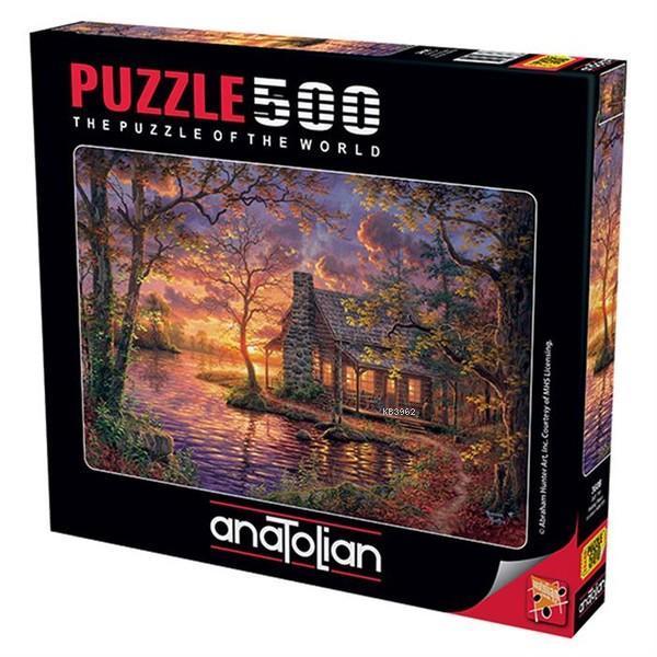 Anatolian Puzzle 500 Parça Gizli Yer 3608