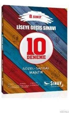 Sınav 8. Sınıf LGS 10 Deneme