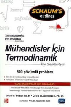 Mühendisler İçin Termodinamik