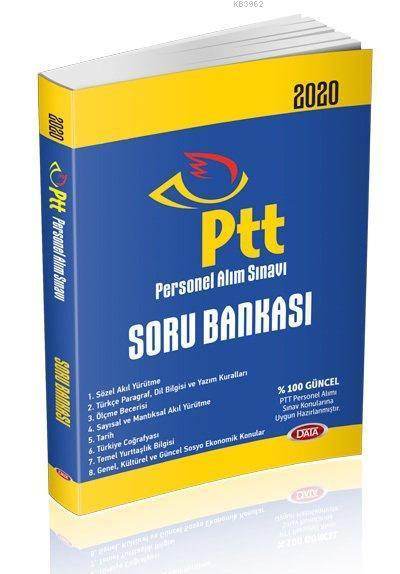Data Yayınları 2020 PTT Personel Alım Sınavı Soru Bankası