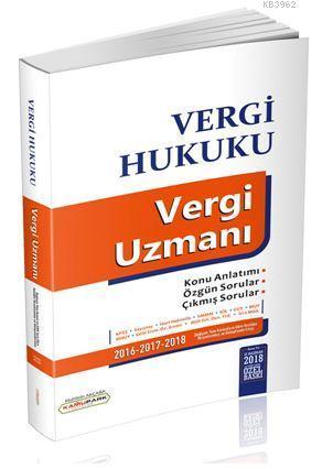Vergi Hukuku Vergi Uzmanı Kamupark Yayınları; KPSS A Grubu ve Tüm Kurum Sınavları İçin