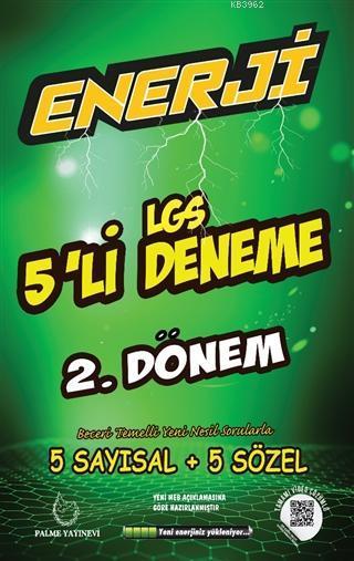Enerji LGS 5'li Deneme 2. Dönem; 5 Sayısal + 5 Sözel