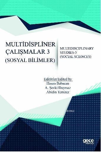 Multidispliner Çalışmalar 3 (Sosyal Bilimler)