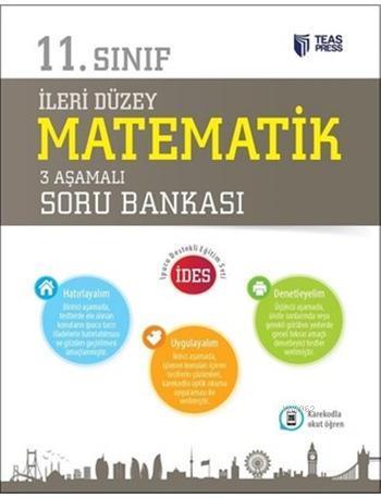 11.Sınıf İleri Düzey Matematik 3 Aşamalı Soru Bankası