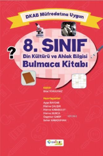 8.Sınıf Din Kültürü ve Ahlak Bilgisi Bulmaca Kitabı