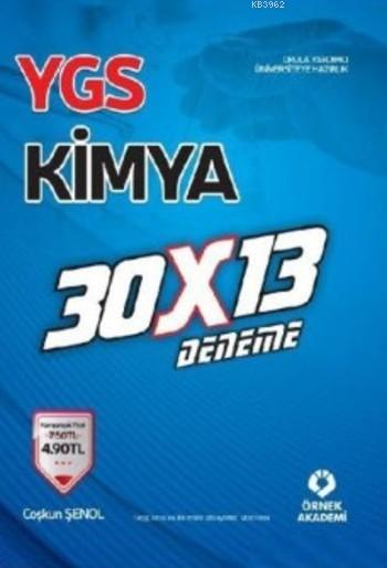 YGS Kimya 30 X 13 Deneme