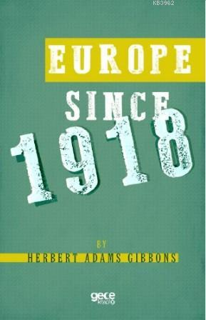 Europe Since 1918