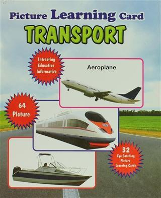 Transport Picture Learning Card Ciltli